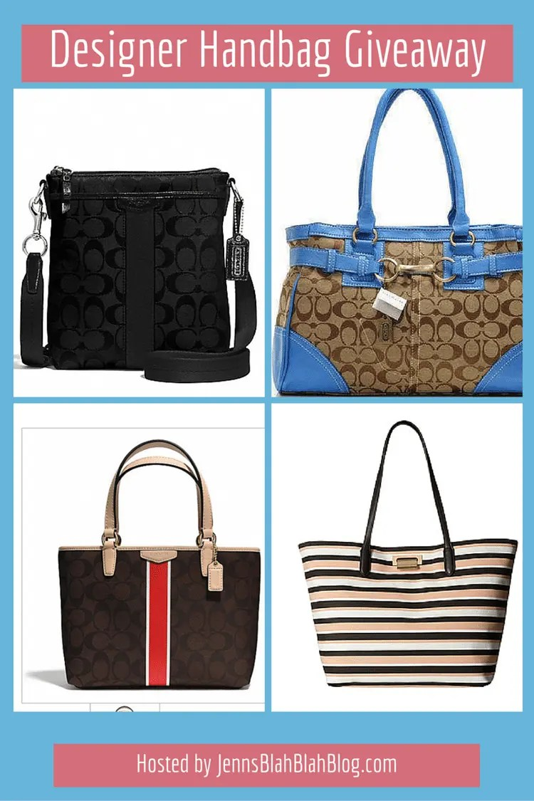 Monthly Designer Handbag Giveaway