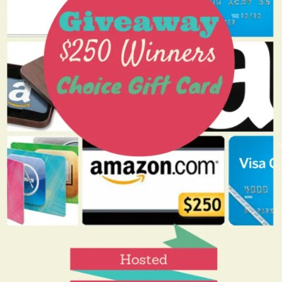 Monthly Gift Card Giveaway!