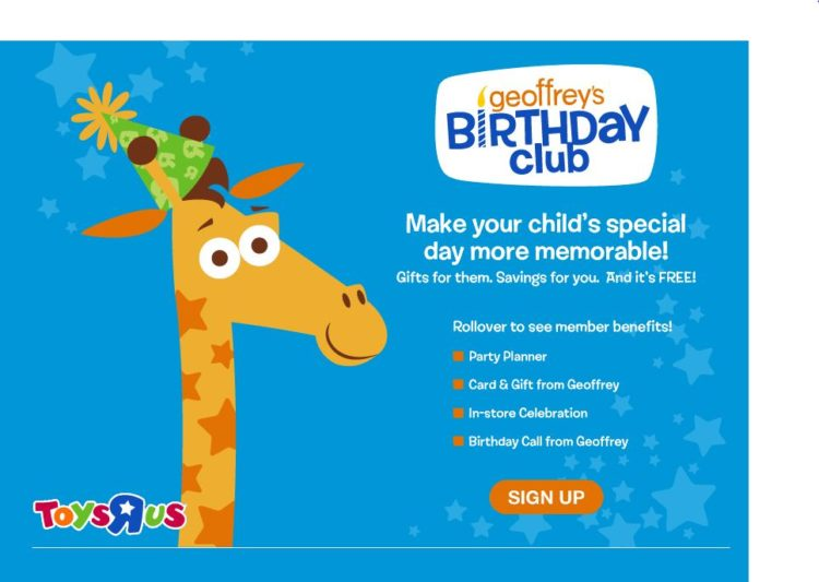 The Legend Of Geoffrey The Birthday Club Toys R Us Giveaway