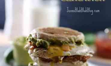 Delicious Huevos Rancheros Breakfast Sandwich