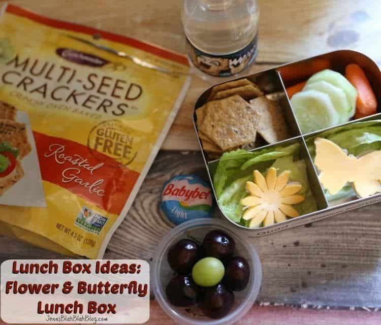Lunch Box Ideas Flower & Butterfly Lunch Box
