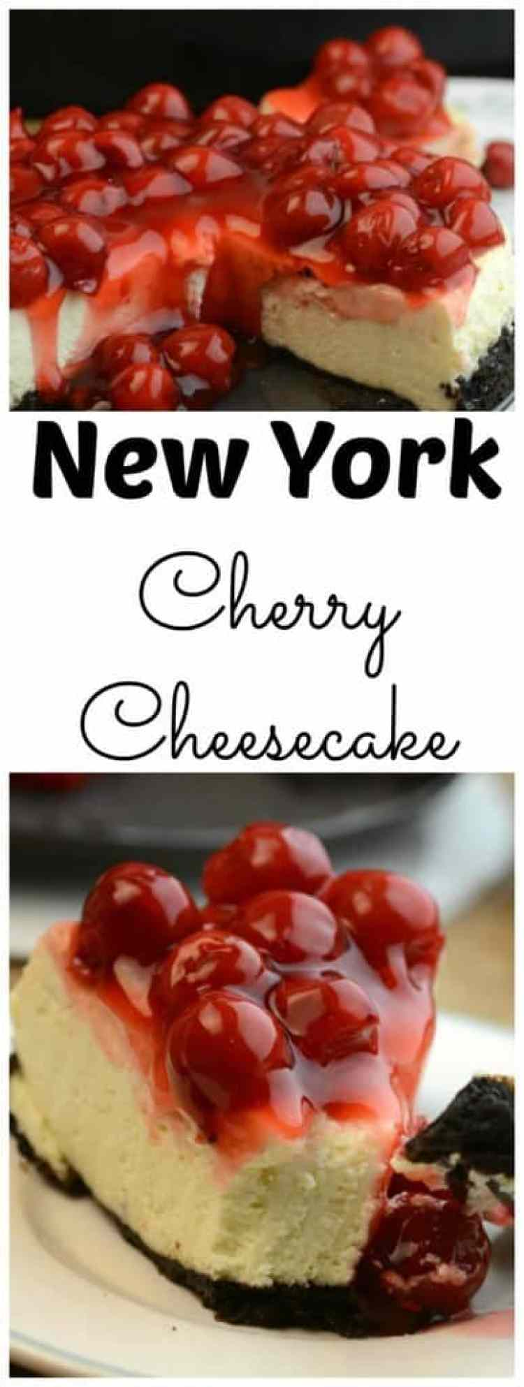 New York Cherry Cheesecake Recipe