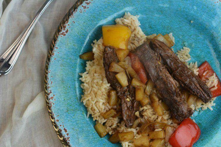 Teriyaki Steak 5