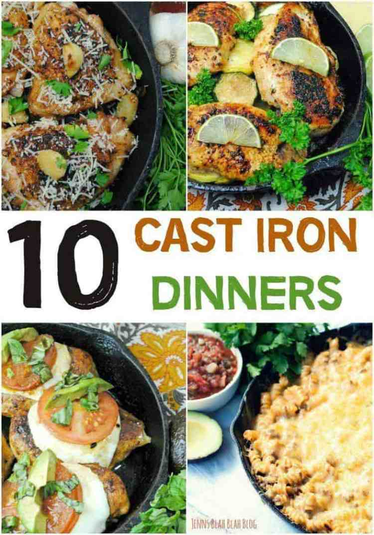 10 Cast Iron Dinners