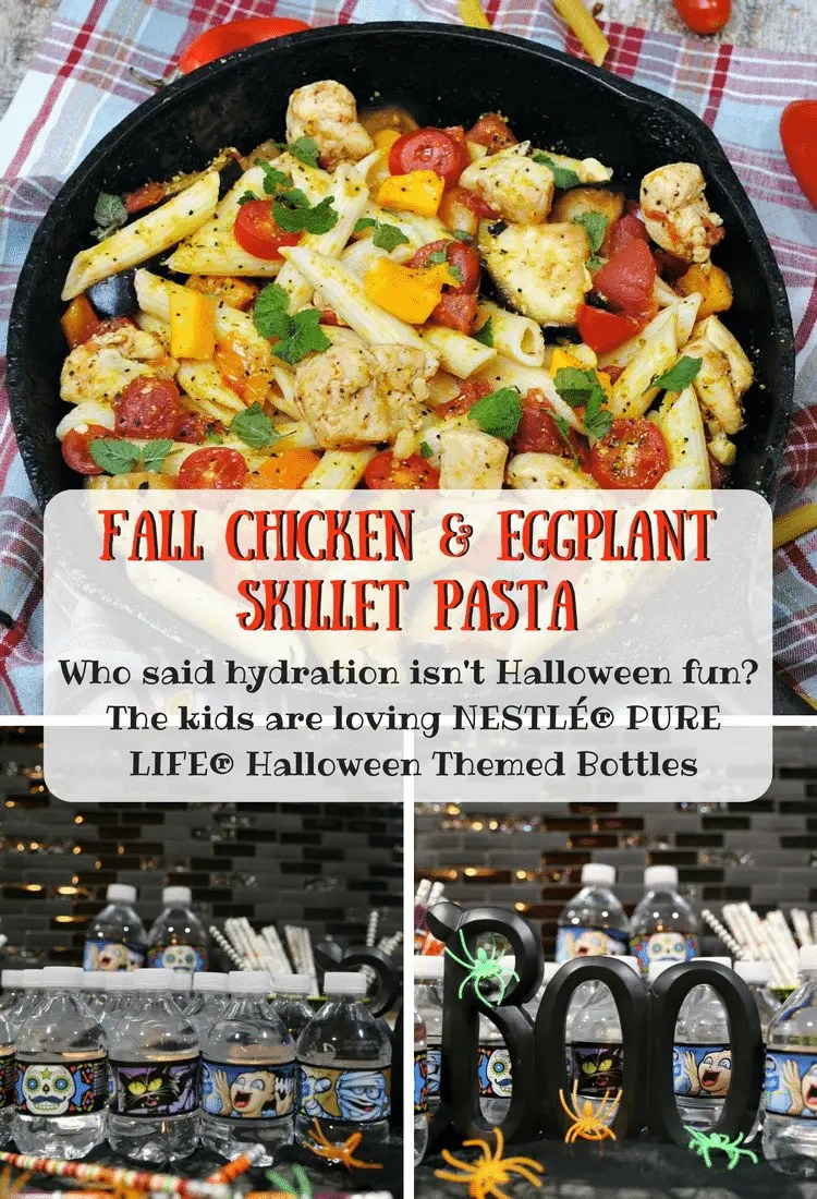 Fall Chicken Skillet Pasta