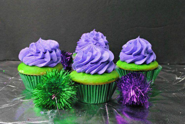 Suicide Squad Joke Cupcakes Recipe