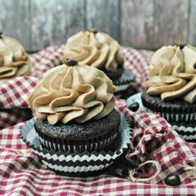 Homemade Mocha Cupcakes Recipe
