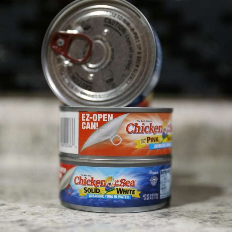Chicken of the Sea EZ Open Cans