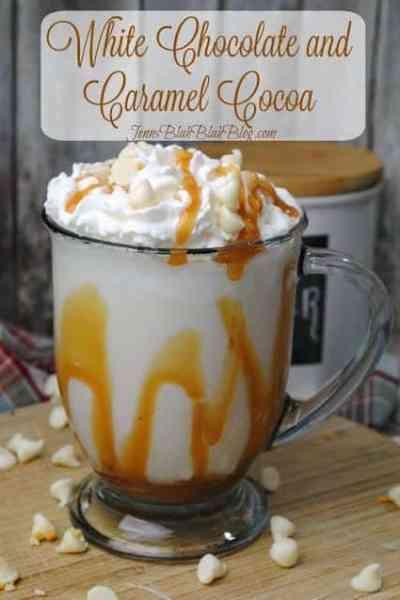 White Chocolate Caramel Cocoa Recipe