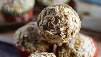 Fifty50 Foods Banana Applesauce Oat Bran Muffins