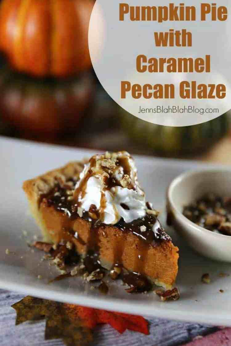 Quick & Easy Caramel Pecan Pumpkin Pie Recipe