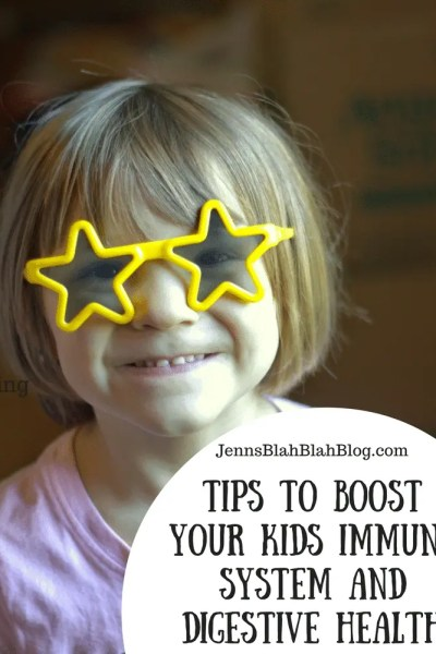 Tips To Boost Your Kids' Immune System and Digestive Health