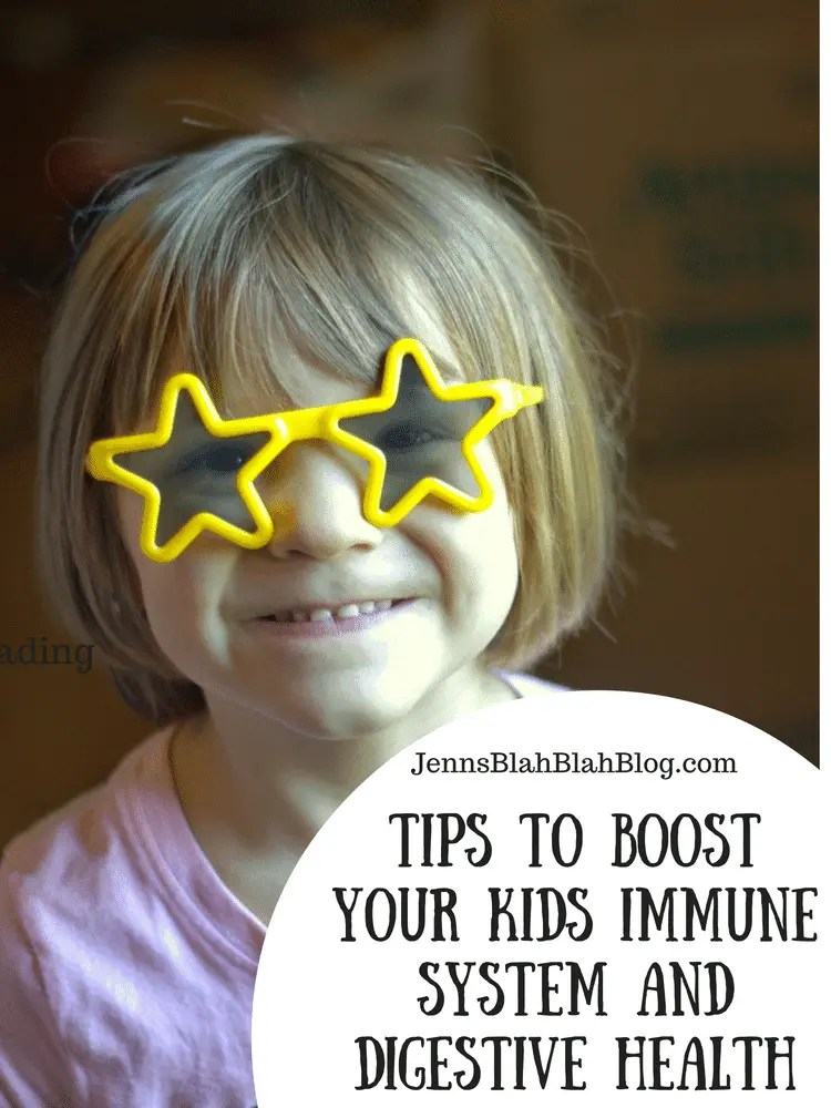 Tips to Boost Your Kids Immune System and Digestive Health