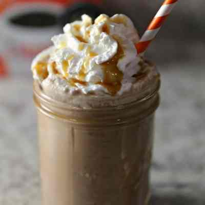 Not So Hot Chocolate Coffee with Whipped Topping
