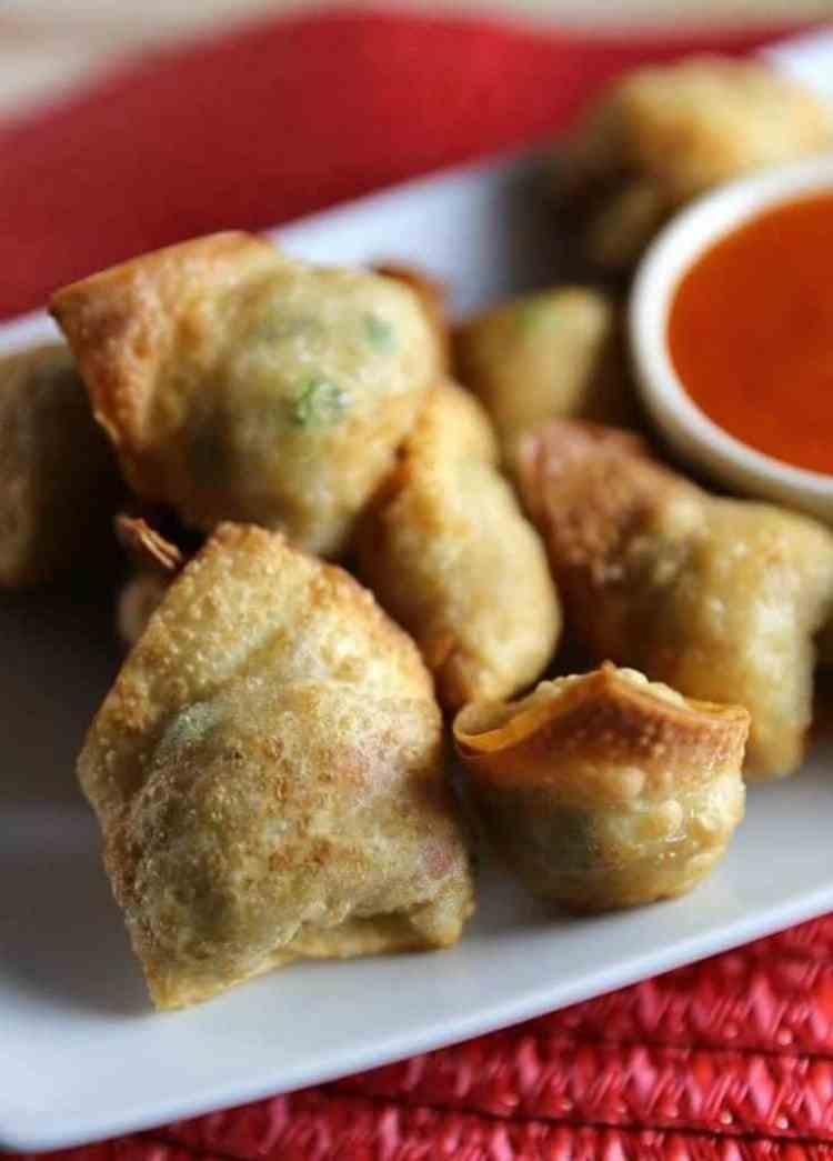 Fried Rice Wontons Recipe
