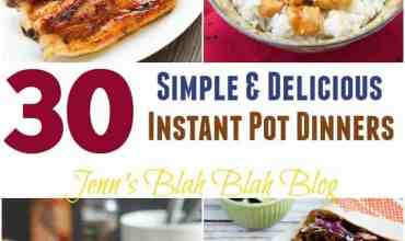 30 Simple and Delicious Instant Pot Dinners