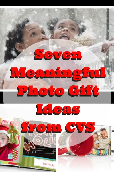 Seven Meaningful Photo Gift Ideas from CVS