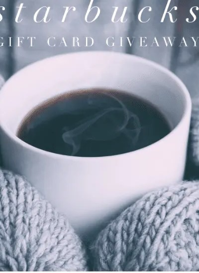 Starbucks Gifct Card Giveaway