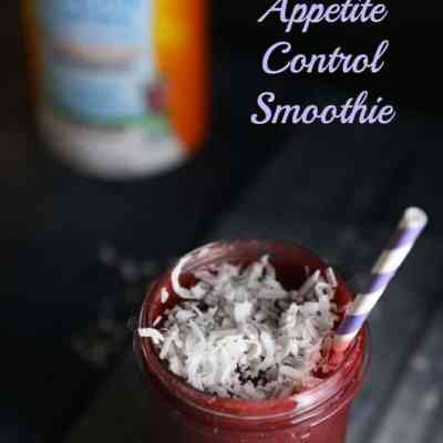 Snack Cravings Crusher Blackberry Coconut Appetite Control Smoothie