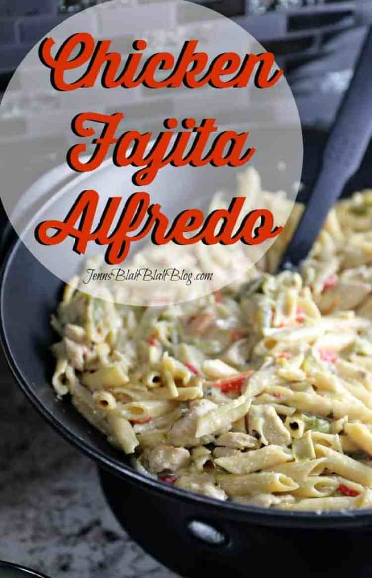 Chicken Fajita Alfredo recipe