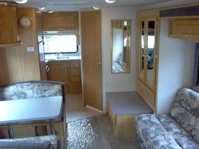 rving camping in style