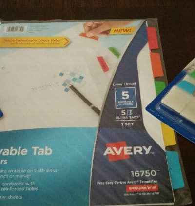 It is Easy to Keep Organized with Avery from Shoplet