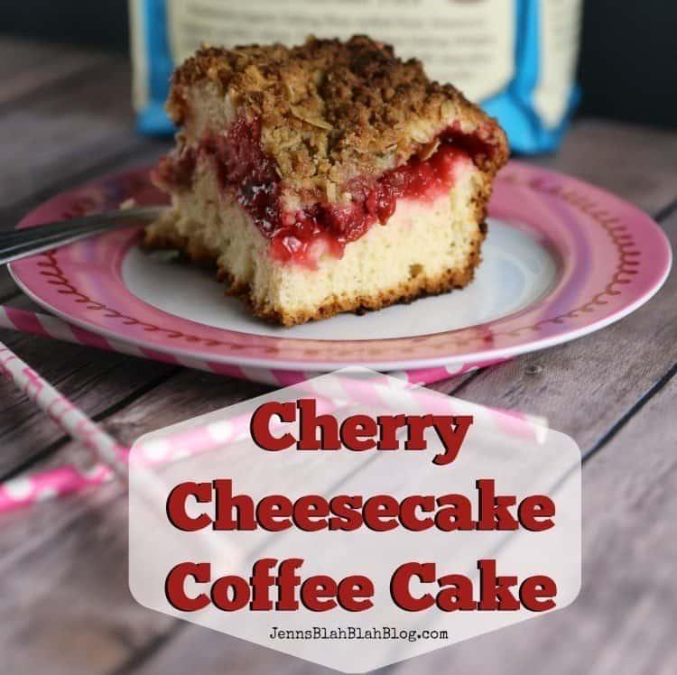 Cherry Cheesecake Coffee Cake Recipe
