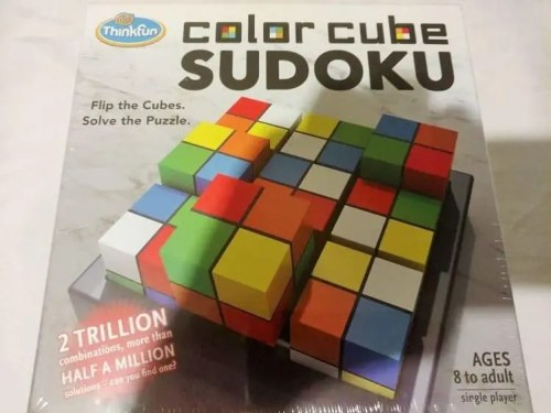 ThinkFun Color Cude Sudoku