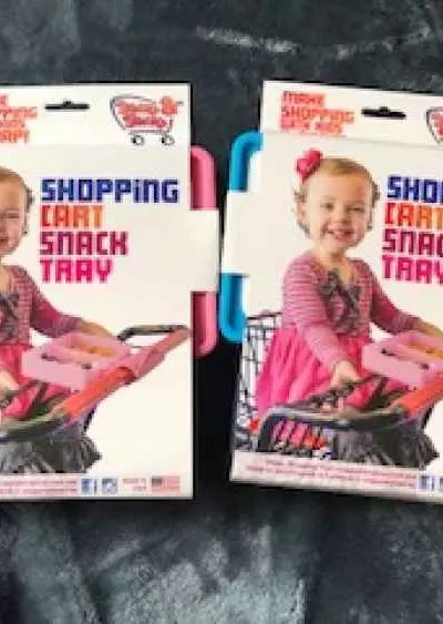 Snap And Shop Cart Snack Tray Review + Discount Code