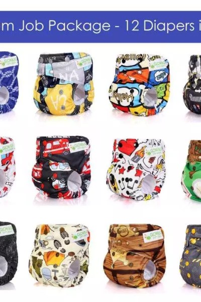 Glow Bug 360 Gusset Diaper Review