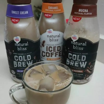 I Love Coffee-mate Natural Bliss, Cold Brew Iced Coffee!