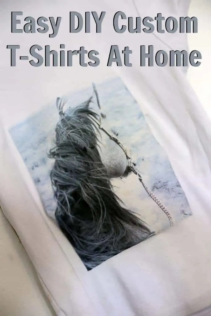 easy diy custom t shirts at home make personalized t