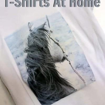 Easy DIY Custom T-Shirts At Home | Make Personalized T-Shirts at Home