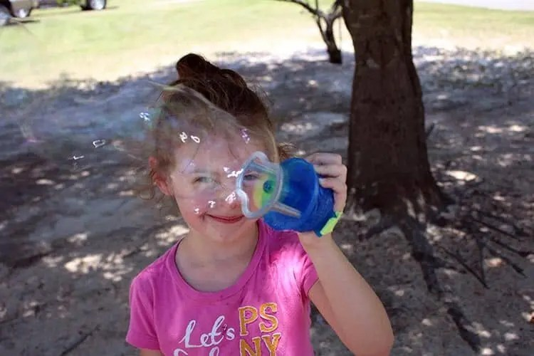 Have a Family Fun Day with Gazillion Bubbles