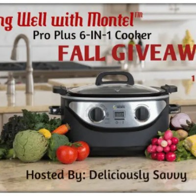 Living Well Montel 6-in-1 Cooker Giveaway