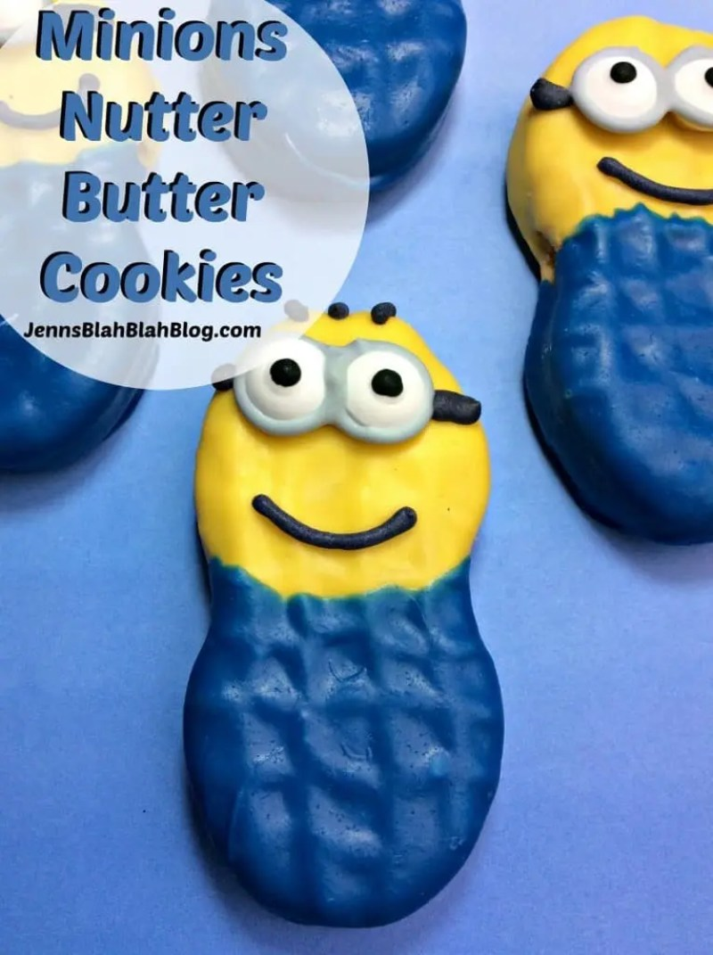 Minions Nutter Butter Cookies