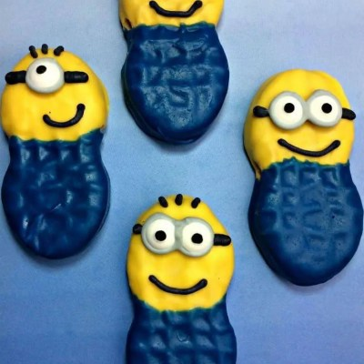 Minions Nutter Butter Cookies Recipe