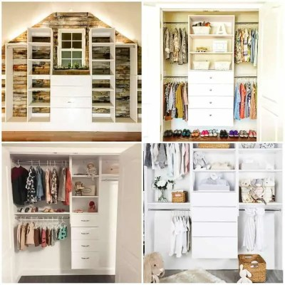 Get Creative & Get Organized With Modular Closets!