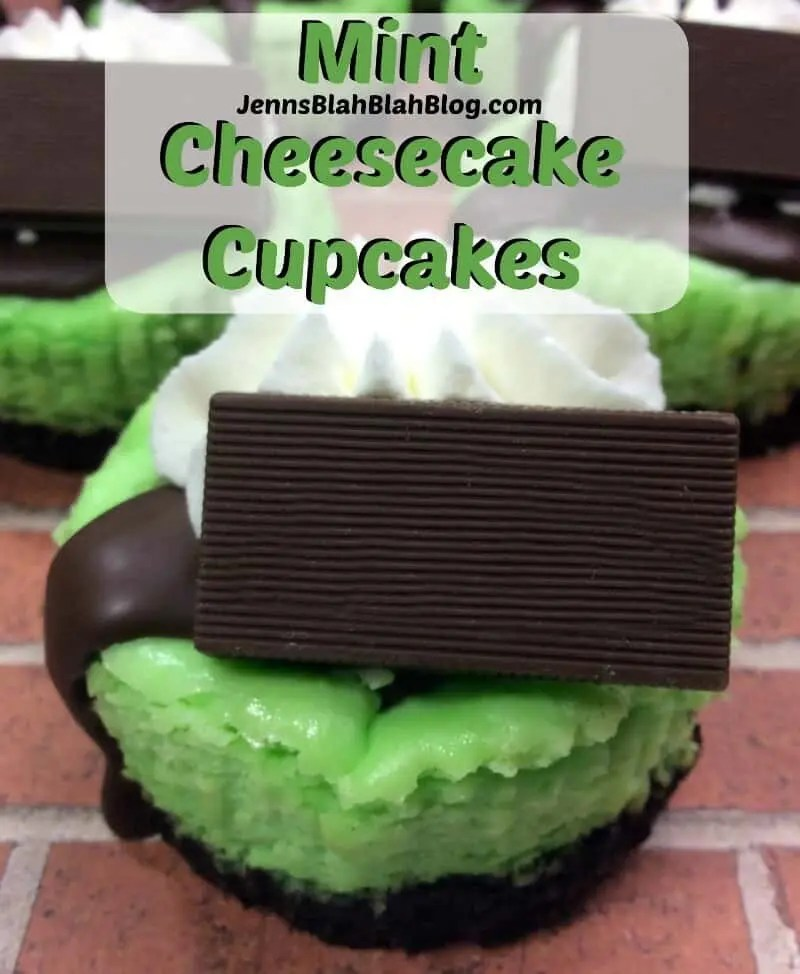 Mint Cheesecake Cupcakes