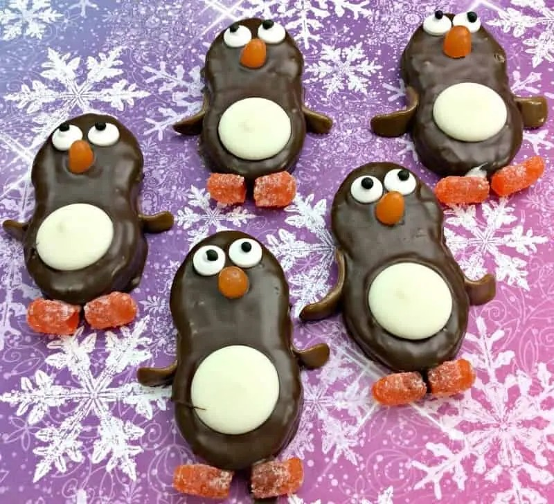 Penguin Nutter Butter Cookies