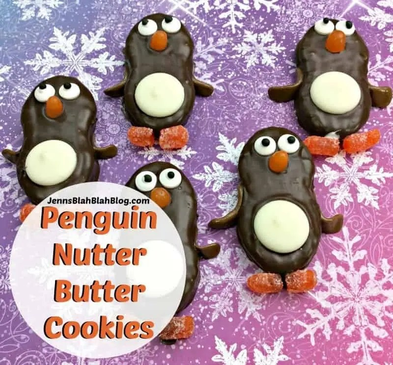 Cute Penguin Nutter Butter Cookies