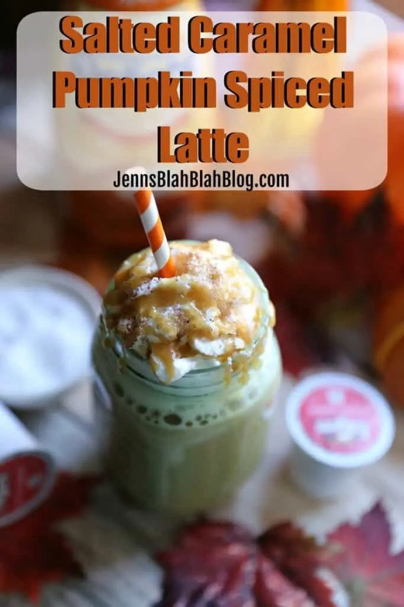 SALTED CARAMEL PUMPKIN SPICED LATTE