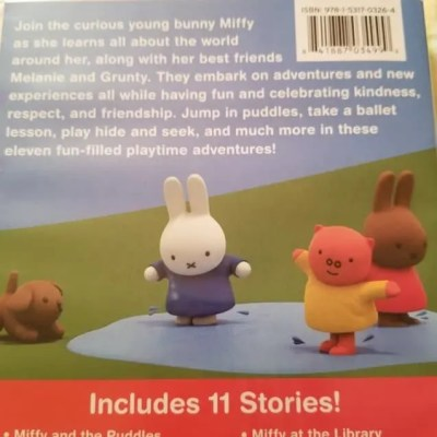 PBS Miffy's Adventure's Big and Small: PlayDate with Miffy DVD Review #GiftGuide