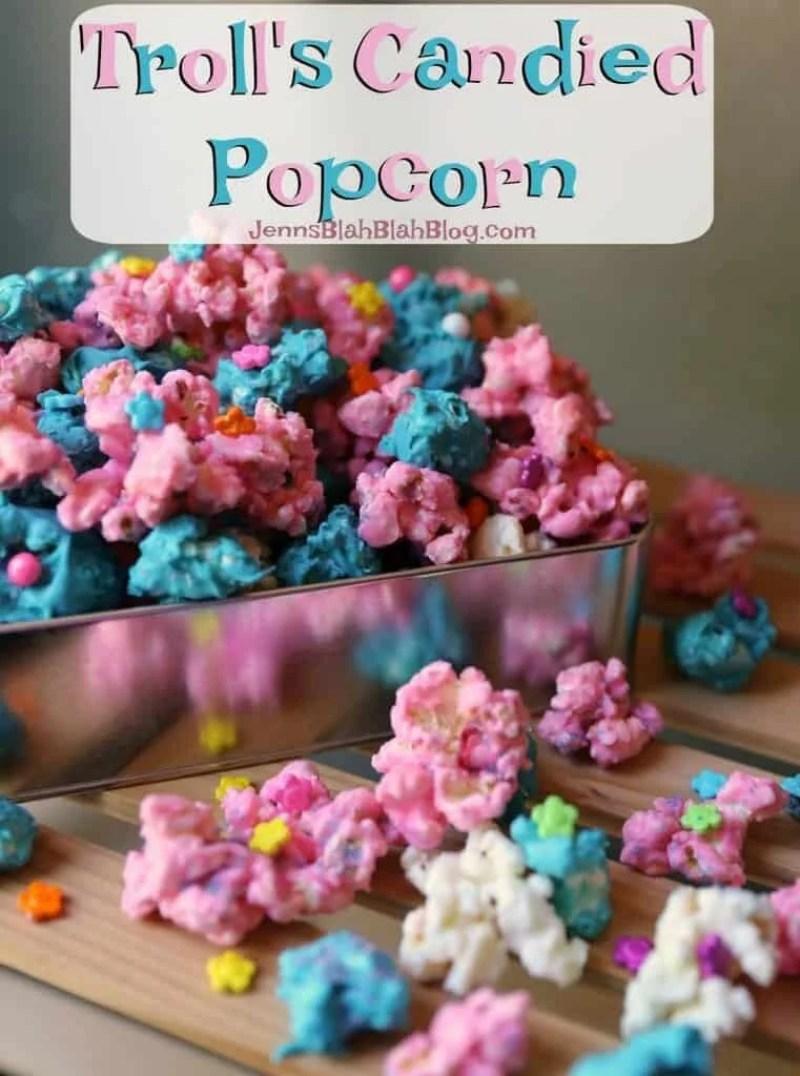Troll's Candied Popcorn Recipe