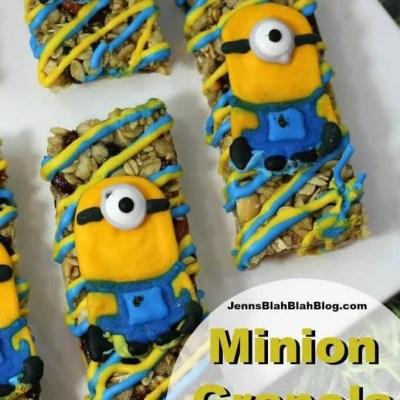 Minions Granola Bars Recipe | Celebrating the Release of Despicable Me 3 Special Edition