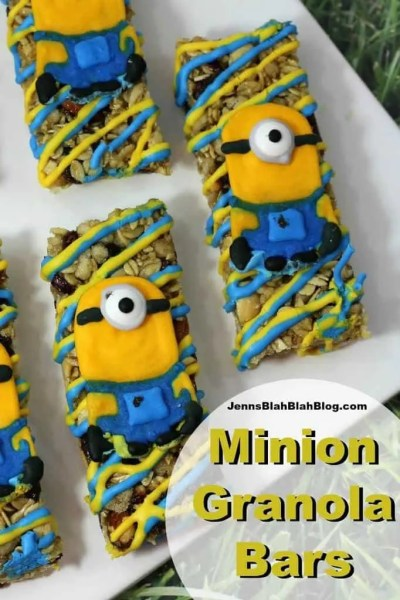 Minions Granola Bars Recipe | Celebrating the Release of Despicable Me 3 Special Edition