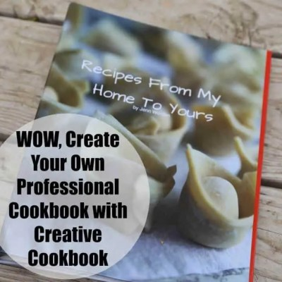 WOW, Create Your Own Professional Cookbook with CreateMyCookbook