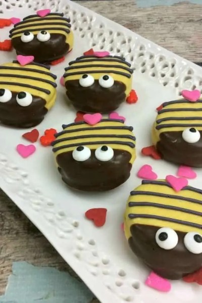 Bumble Bee Oreo Cookies, Talk About Cute!