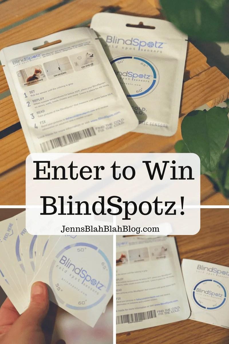 Enter to win blindspotz giveaway