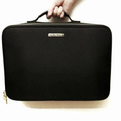 Keep Your Cosmetics Organized with this Songmics Makeup Train Case